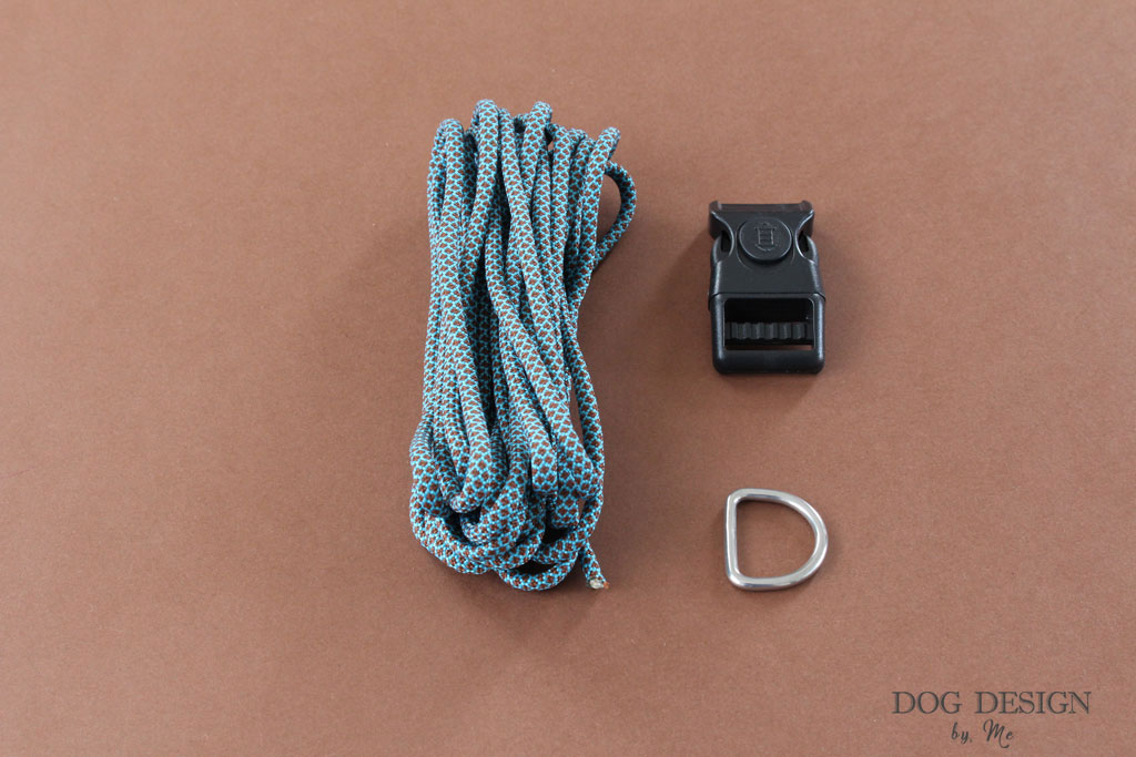 Kit collier paracord